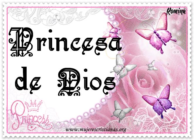 Tarjeta – Princesa de Dios