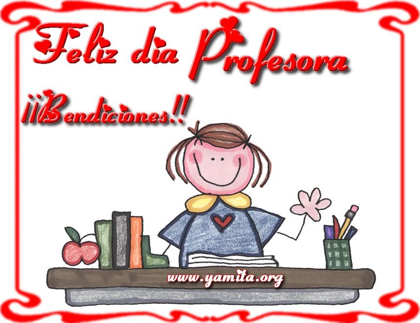 Feliz dia profesora - Facebook