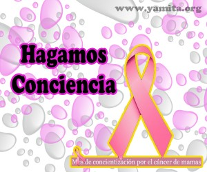 Hagamos conciencia por el cáncer de mamas