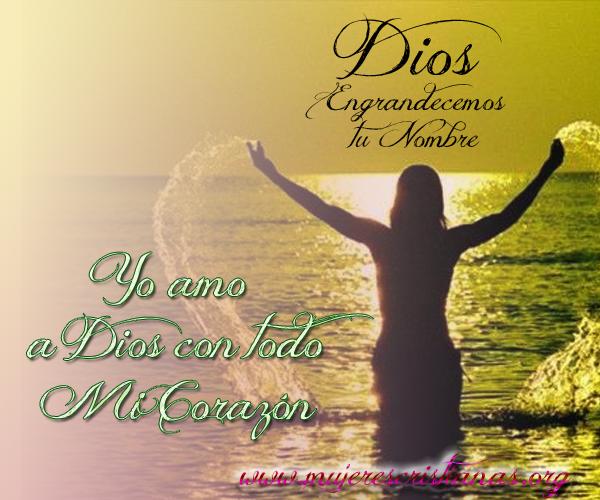 Dios engrandecemos tu nombre
