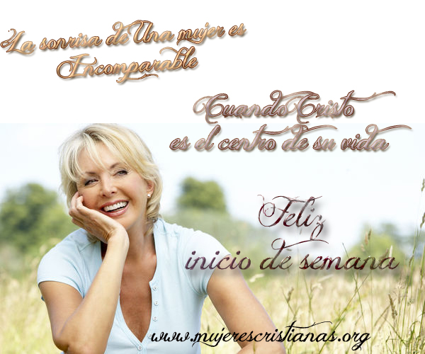 La sonrisa de una mujer es incomparable