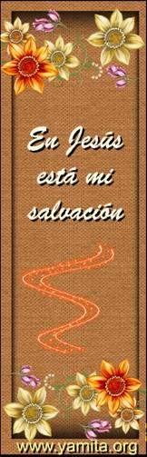 en Jesus esta mi salvacion