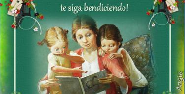 Felicidades en el dia de las madres amiga