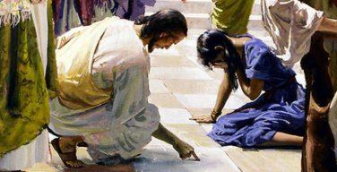 Jesús-perdona-a-una-mujer-adúltera