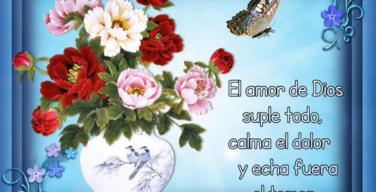 El amor de Dios suple todo