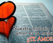 Nuestra historia de amor es la MEJOR