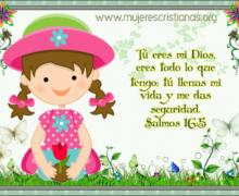 Tú eres mi Dios, eres todo lo que tengo