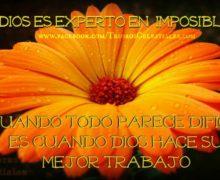 Mi Dios es experto en imposibles!!