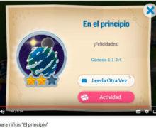 El principio – La biblia para niños