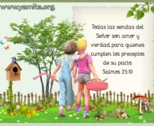 Todas las sendas del Señor son amor y verdad